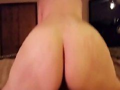 Big Booty wifey Sucks Her Husband Hard And Rides Him