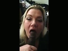 sexy nudes White Girl Sucks Her black ass BFs Cock And Swallows