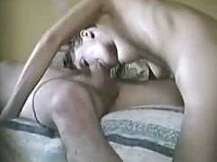rear-end licking and swallow ex-gf on secretly watching cam