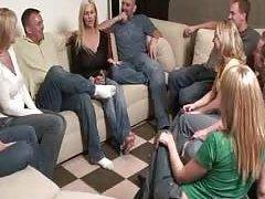 Party game leads to massive amateur orgy