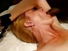 yellow-haired wifey tied and abused again