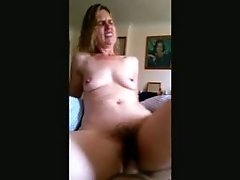 Riding A Dick Covered Sextoy Its So Big That It Hurts
