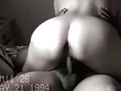 old people fucking woman with big booty rides her man on the bed