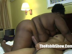 phat chocolate sbbw lady v fucked by bbc redz