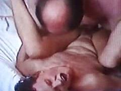Fast and hard quicky at the end of a hotel fuck with 2 cocks
