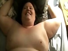 Holy Shit  This chunky Moans Like An Animal In Heat She Wants To Be Breeded And Gets A cum on hairy pussy