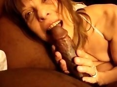 Ugly White Milf Has POV Oral And Cowgirl Sex With Her ebony fuck BF