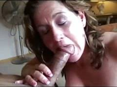 A sensual mature cougar wife fucks and filmed by cuckold