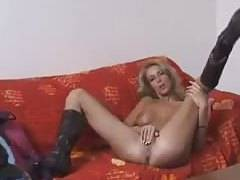 Horny Mature Blonde Solo