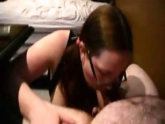 Roleplaying The Nerdy Pigtailed Student That Sucks Her First Cock