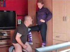 Adventures of german cuckold wife and sissy hubby