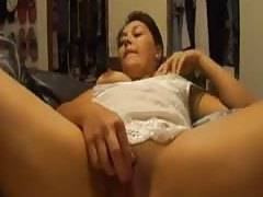 Latina girlfriend enjoying some hot foreplay