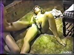 Susan Bathing and Masturbating