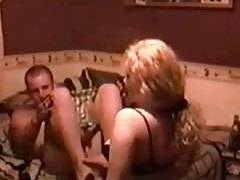 Dude gets feminized and fucked by his girl