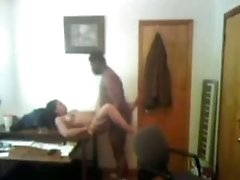 black boobs Boss Fucks His Secretary Missionary On Her Desk