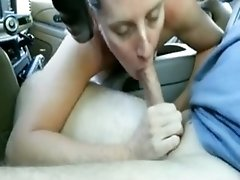 The GF Gives Me Head In The Car
