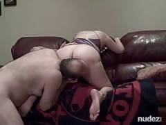 Thick wife getting spanked