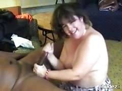 Nine inches is perfect for bbw wife