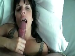 petite fuck Licks The Head Of My Cock Until I Shoot Sperm In Her Mouth