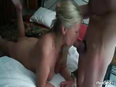 Mature hot blowjob