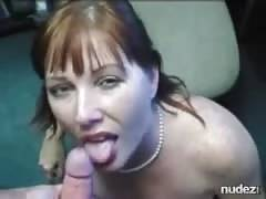 Her master Cums all over her