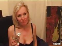 French blonde mature wife fantasy to make porn video