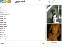 teenie Gets Tricked And Has Cybersex With A Fake Guy On Omegle