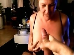 German wife Makes Her Man Moan Of Oral Pleasure