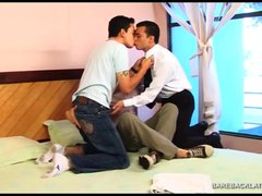 Horny Latin Barebacking Threesome