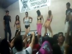 Shit Went Crazy At Mexico City University Freshman Students Strip