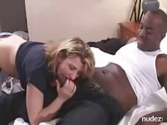 Schoolteacher ex-wife breeding with ebony bull
