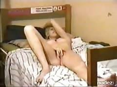 Couple having steamy long sex in bedroom