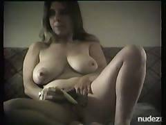 Audrey the nurse masturbating