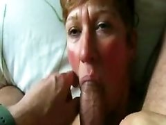 elderly porn Woman Sucks Her Man039s Dick And Cock POV