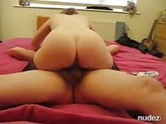 Wife gets hubbys creampie
