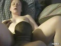 Passionate interracial home fucking