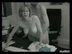 Classy wifey gets her assfucked while fiance films