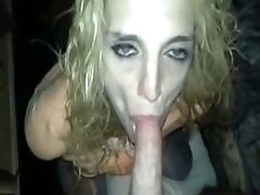 Girl Looks Like This May Be Her Last cock licking Before She Drops Dead And She Cockslaps Her Face