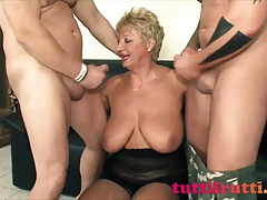 Euro huge tits amateur mature