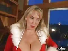 wife jingle balls xmas oral sex