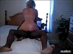 ex-wife riding african bull