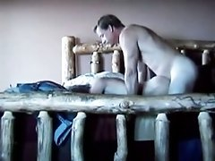 Milf Gets Doggystyle Fucked By Her Husband On The Bed And Moans