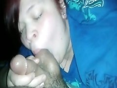bbw Licks Her Pussyjuice After Riding Cock