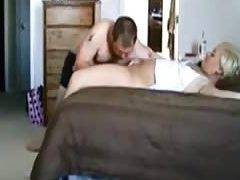 Younger pussy fucking and husband in morning action