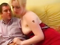 Slim Blond Arse Sex