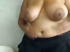 Busty amateurs vid shows me tease with my ebony curves