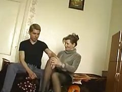 European Porn Incest juicy young mother with her son