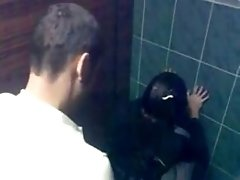 Dude Tapes His Friend Fucking His GF Doggystyle In A Toilet