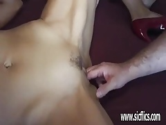 Gang bang fist fucked cuckold amateur wife