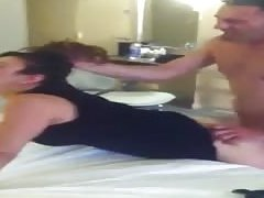 Husband films hotwife fucked like a whore by bull
